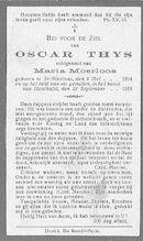Oscar Thys