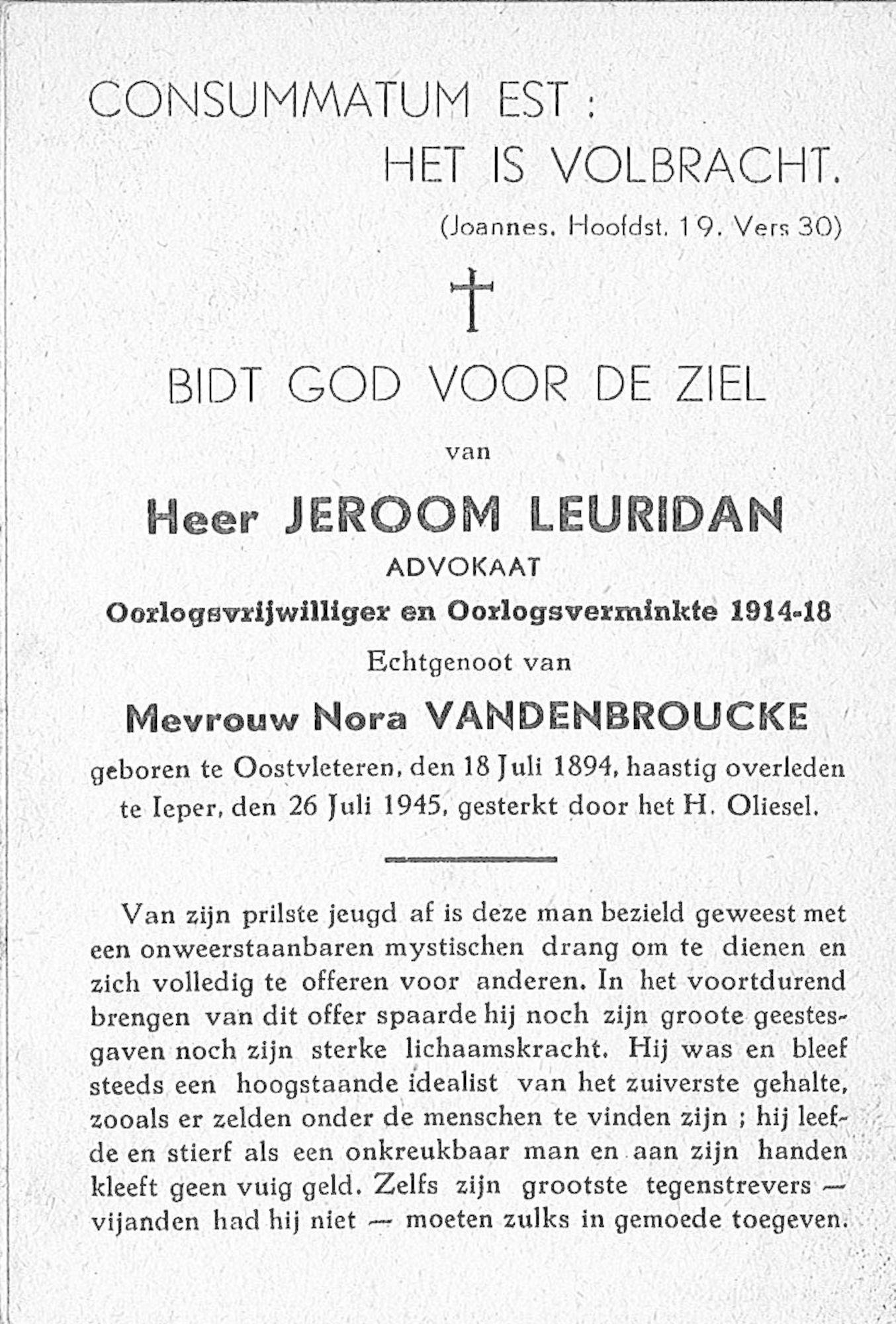 Jeroom Leuridan