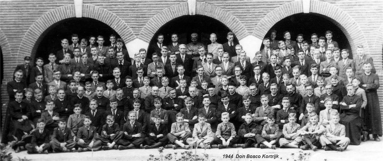Klasfoto's Don bosco Kortrijk 1930-1944
