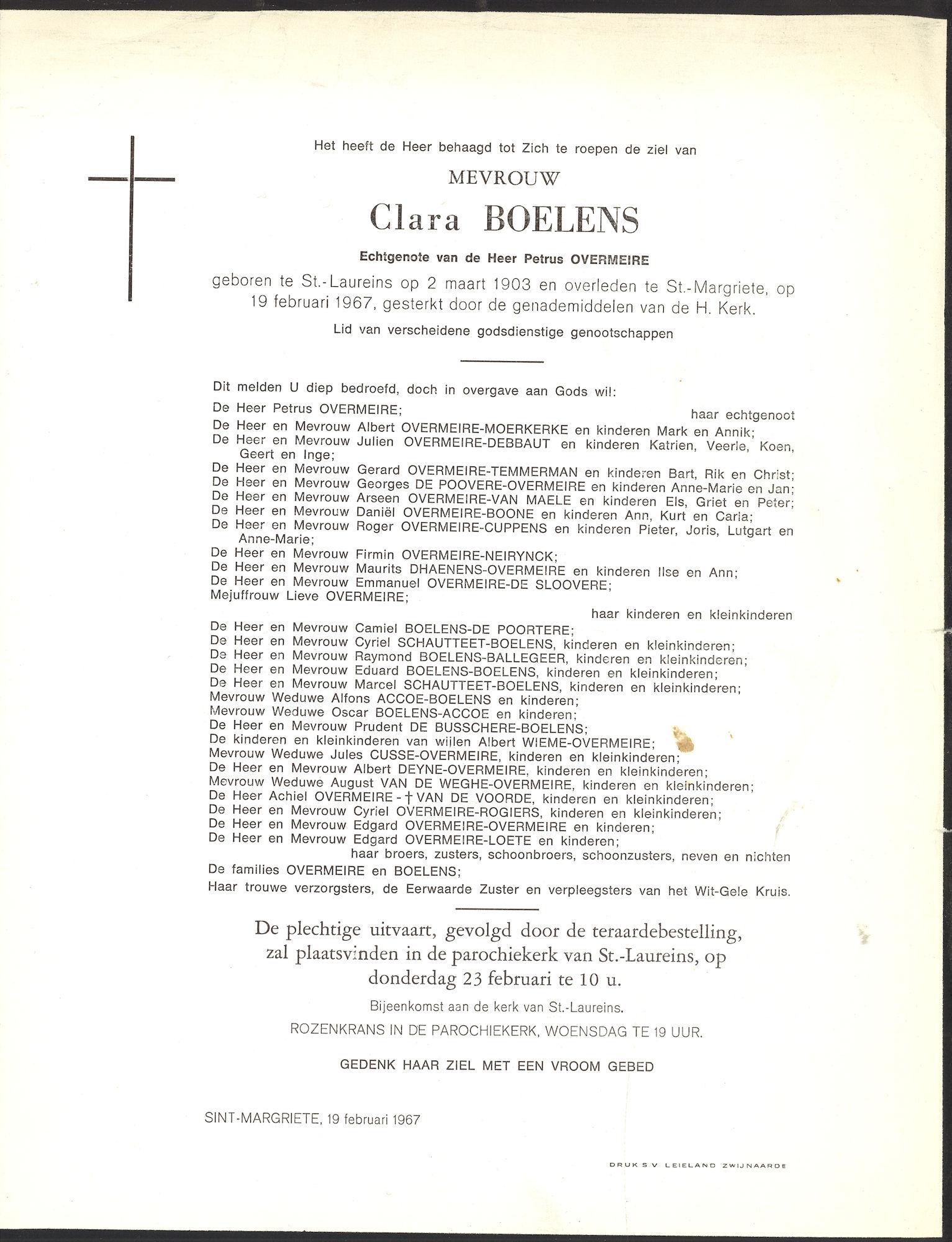 Boelens Clara