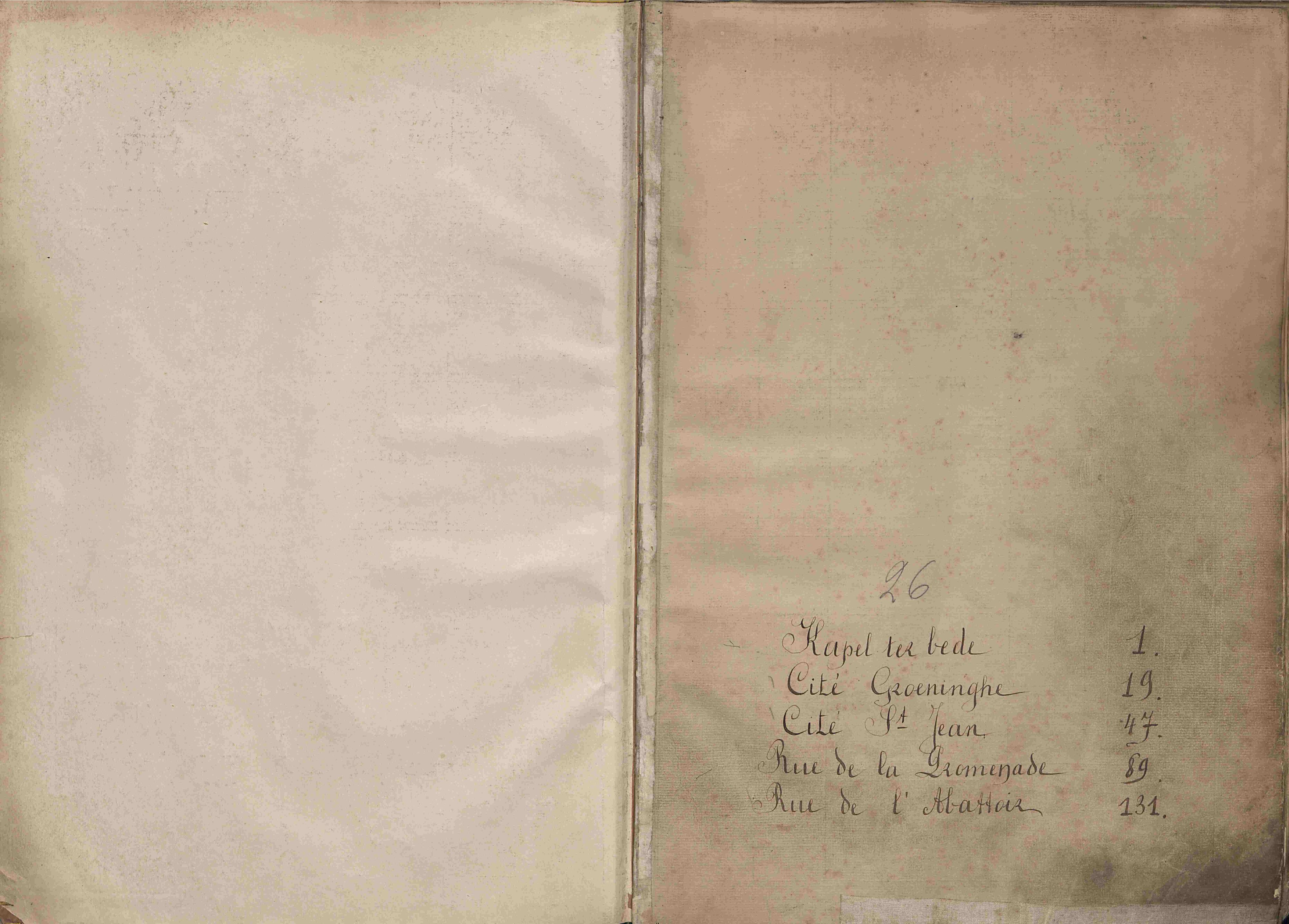 Bevolkingsregister Kortrijk 1890 boek 26