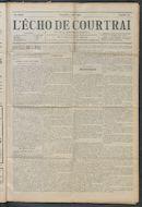 L'echo De Courtrai 1914-06-07