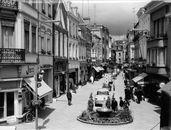 Korte Steenstraat (Shoppingstreet) 1964