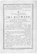 Ida Bauwens