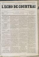 L'echo De Courtrai 1877-03-11