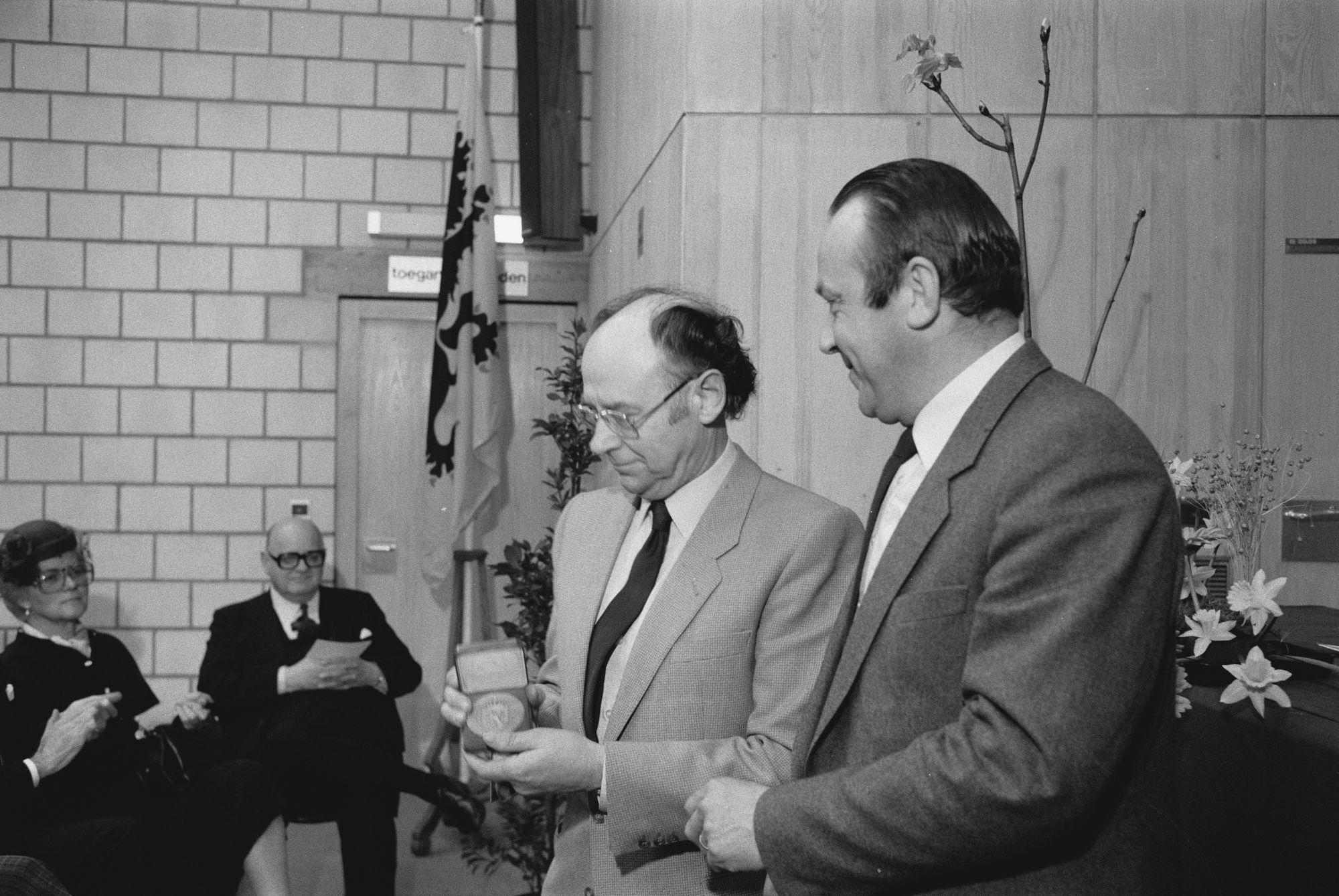 Inhuldiging van het Vlasmuseum 1982