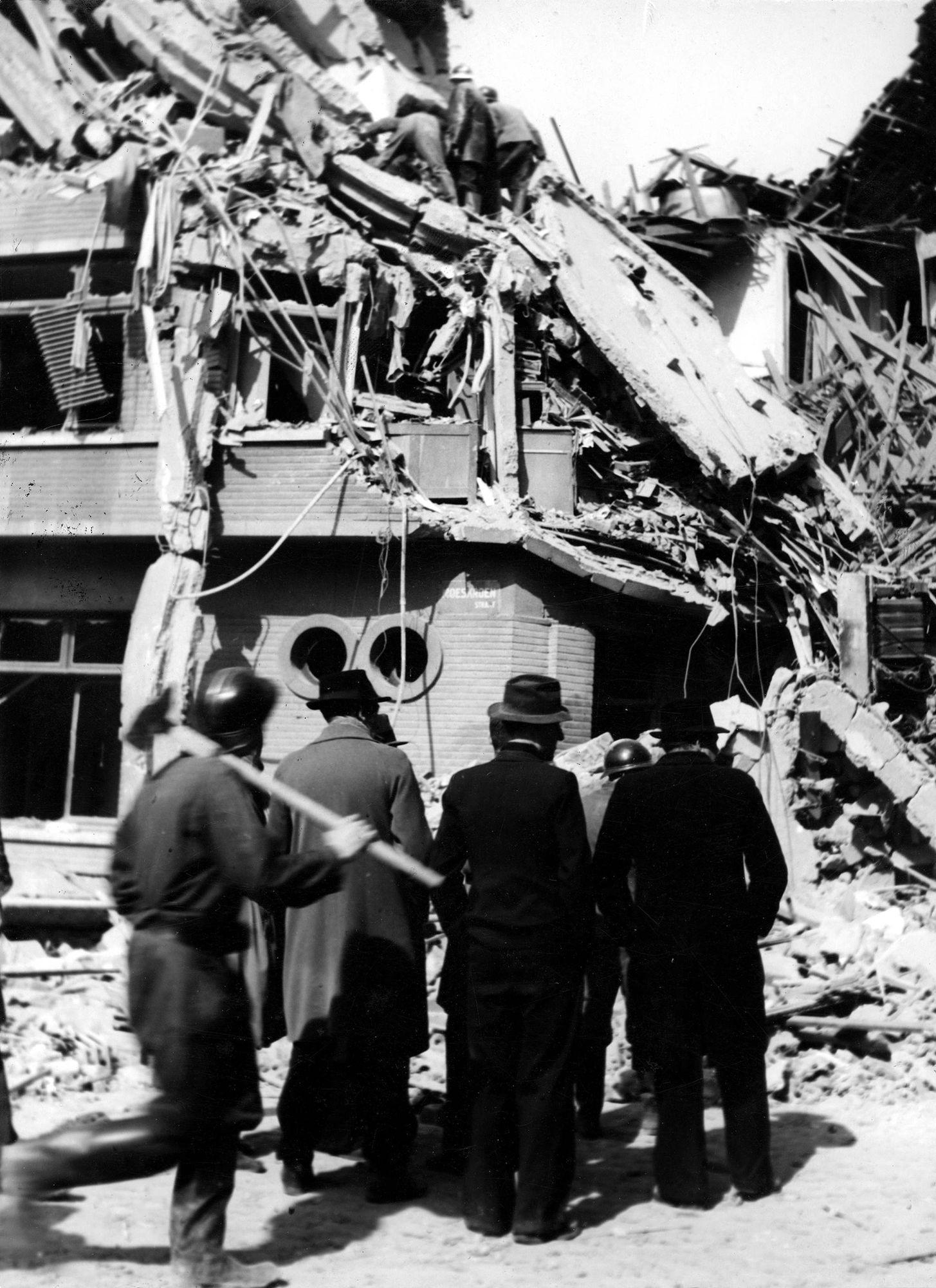 Roeland Saverystraat in 1944