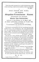 Aloysius-Franciscus Noens