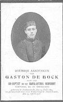 Gaston De Bock