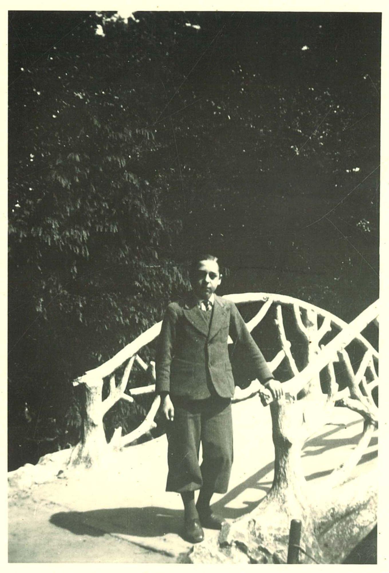 Lucien Beheydt, leerling aan de Broederschool Overleie