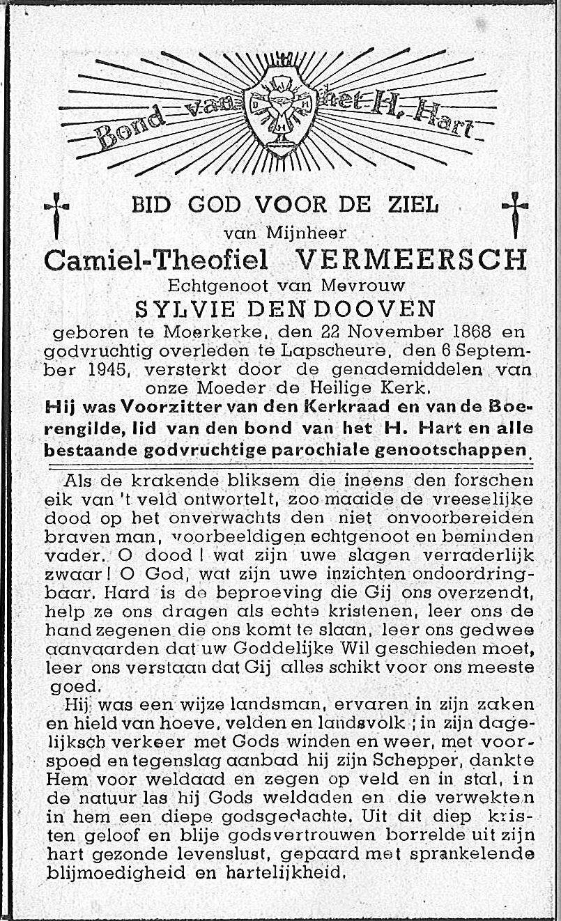 Camiel-Theophiel Vermeersch