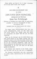 Jan Van den Winckel
