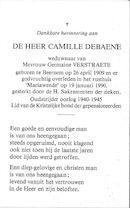 Camille Debaene
