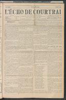 L'echo De Courtrai 1909-05-13