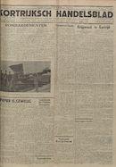 Kortrijksch Handelsblad 9 november 1945 Nr90 p1