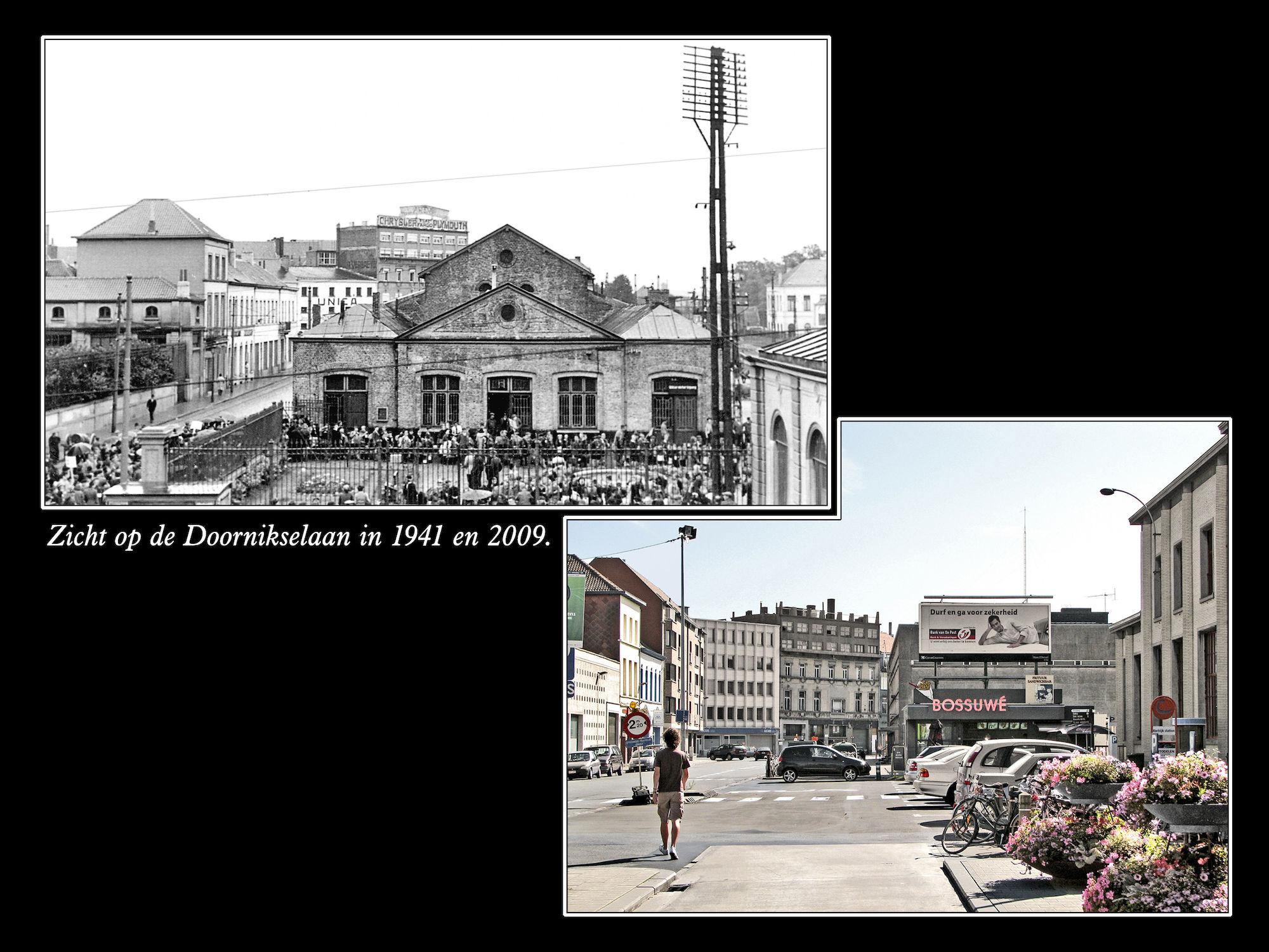 Doornikselaan 1941 en 2009