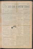 L'echo De Courtrai 1910-05-08