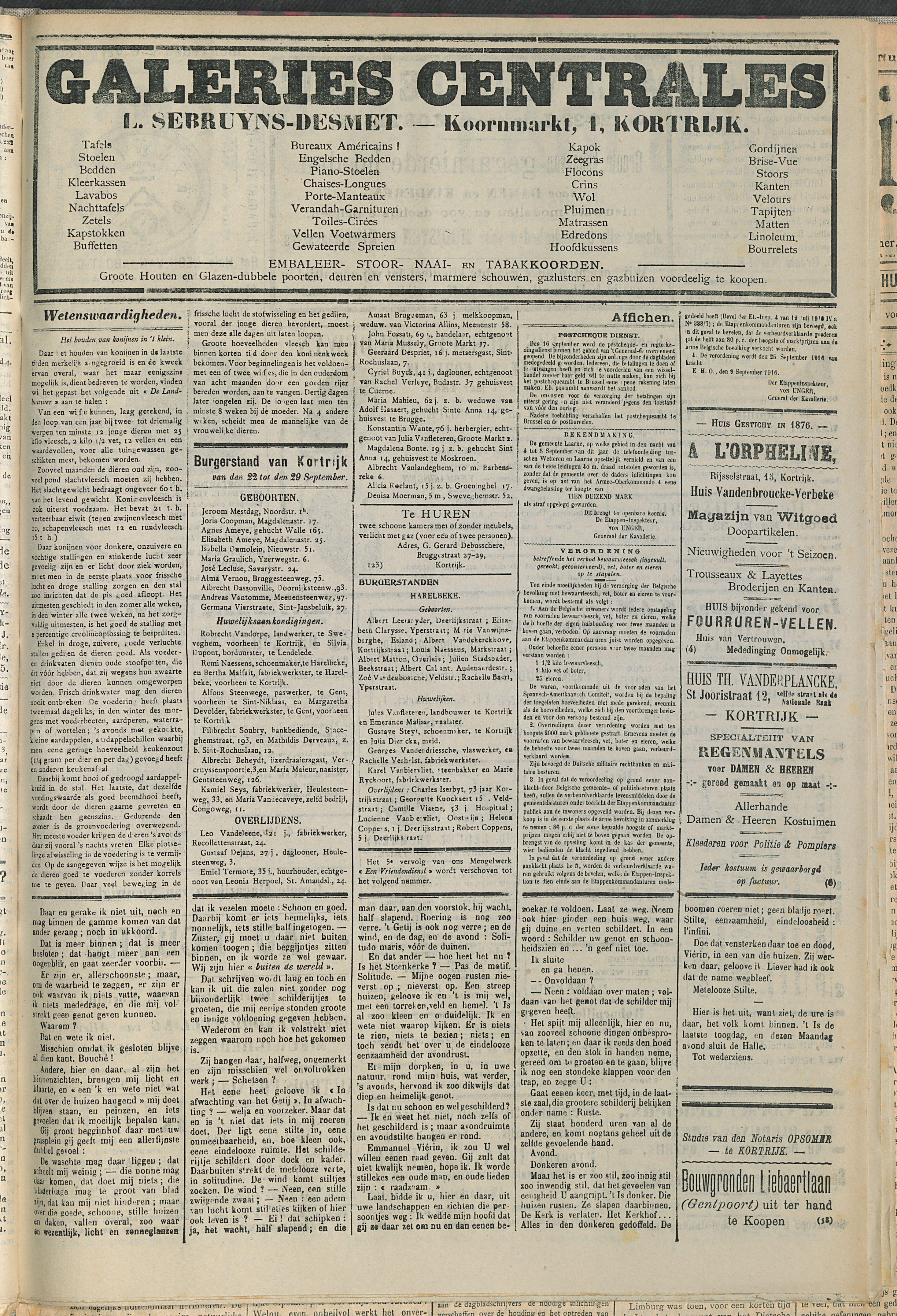 Gazette Van Kortrijk 1916-09-30 p3