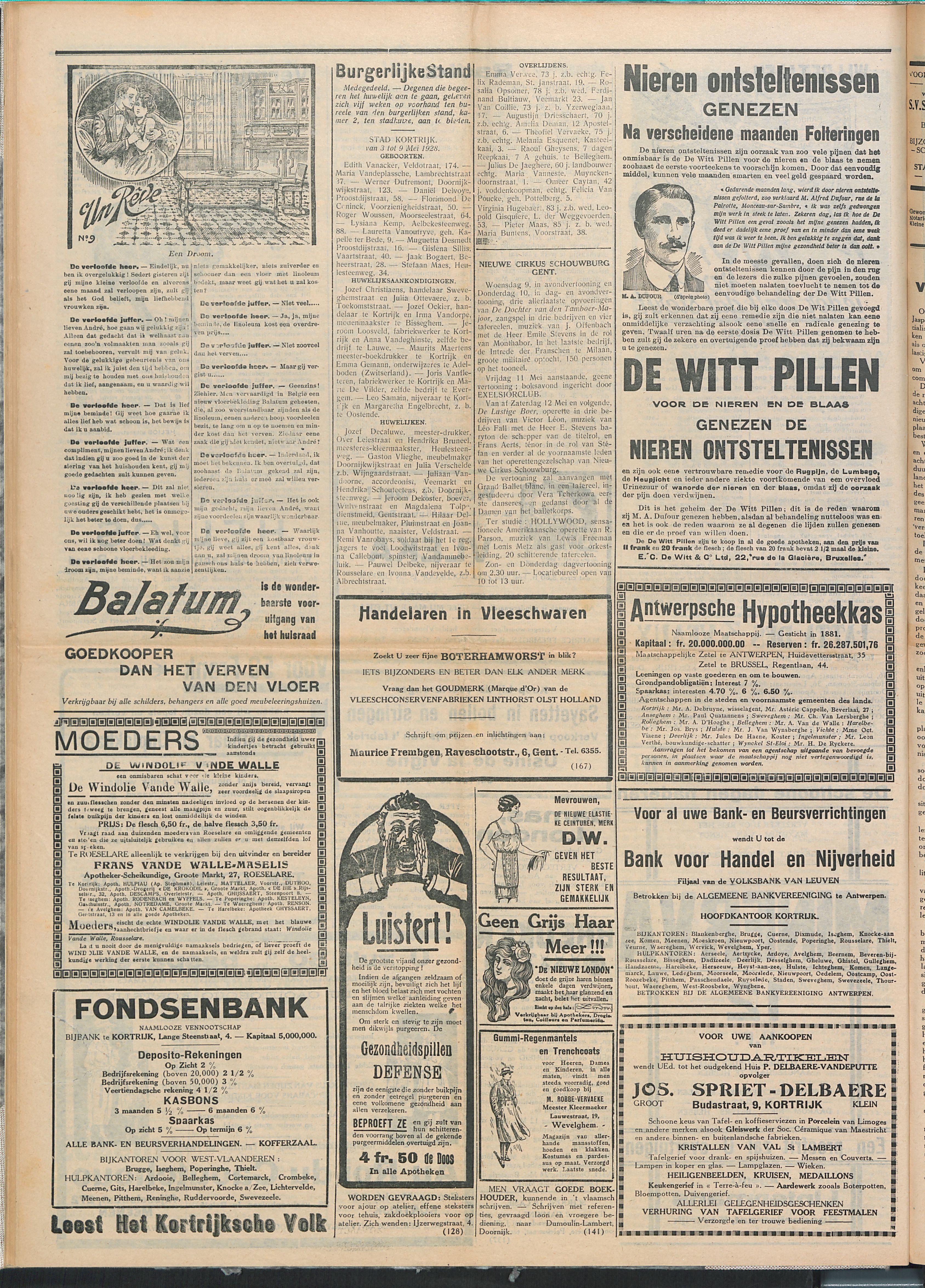 Het Kortrijksche Volk 1928-05-13 p4