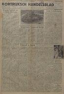 Kortrijksch Handelsblad 16 mei 1945 Nr39 p1