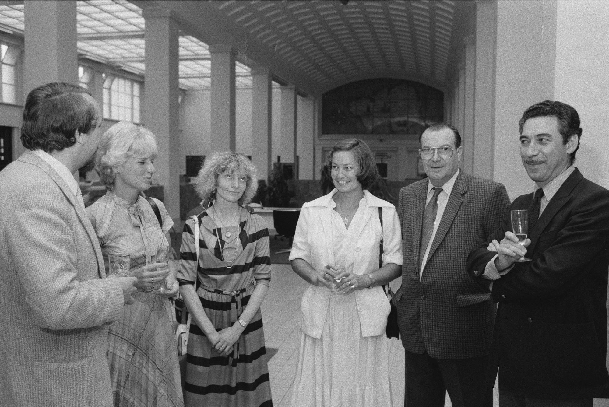 Opening braderie centrum 1982