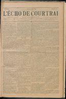 L'echo De Courtrai 1895-06-20 p1