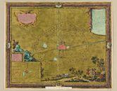 Westflandrica - Ieper, kaart van de stad