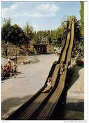 Oude foto van pretpark