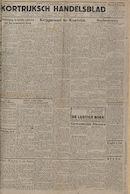 Kortrijksch Handelsblad 17 october 1945 Nr83