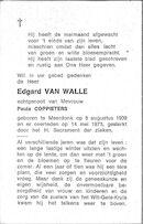 Edgard Van Walle
