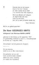 Kints Georges