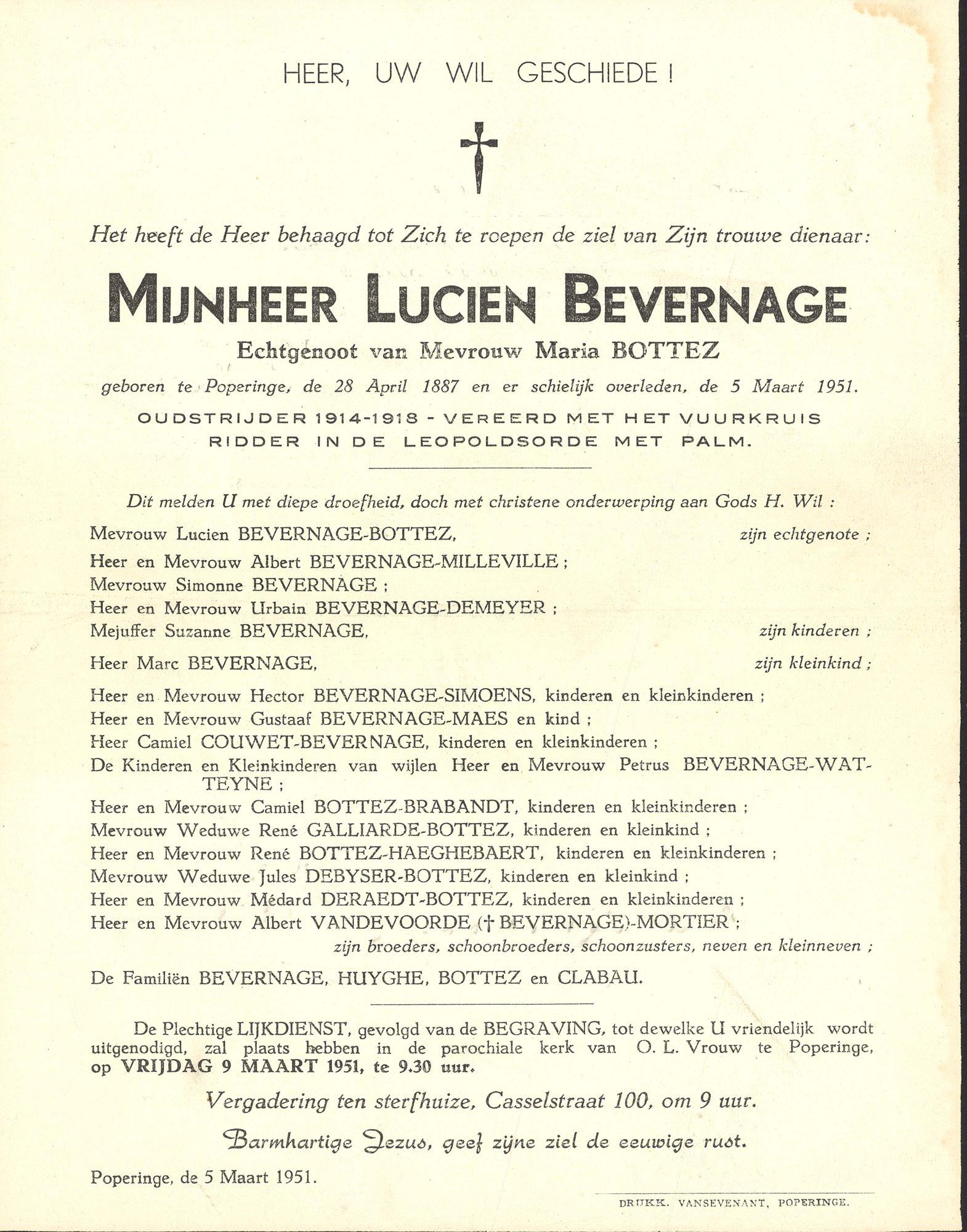 Lucien Bevernage