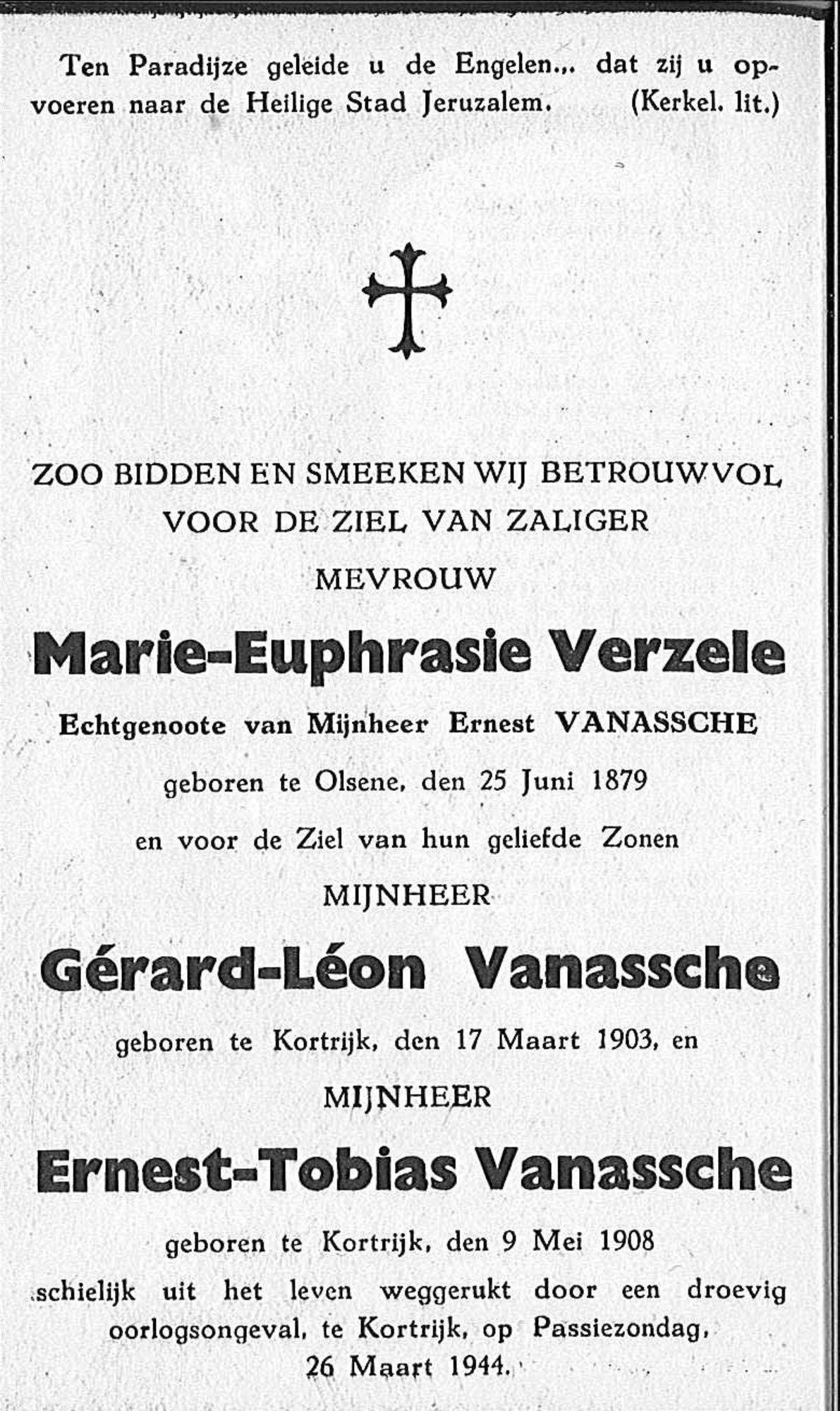 Marie-Euphrasie Verzele