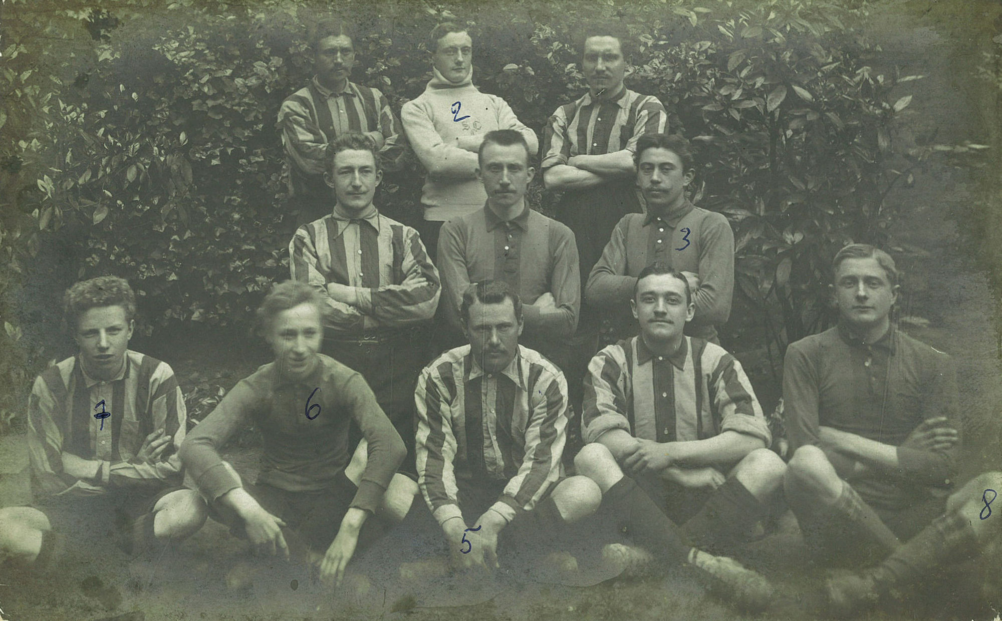 Foto van Sporting Club Courtraisien 1908-1910
