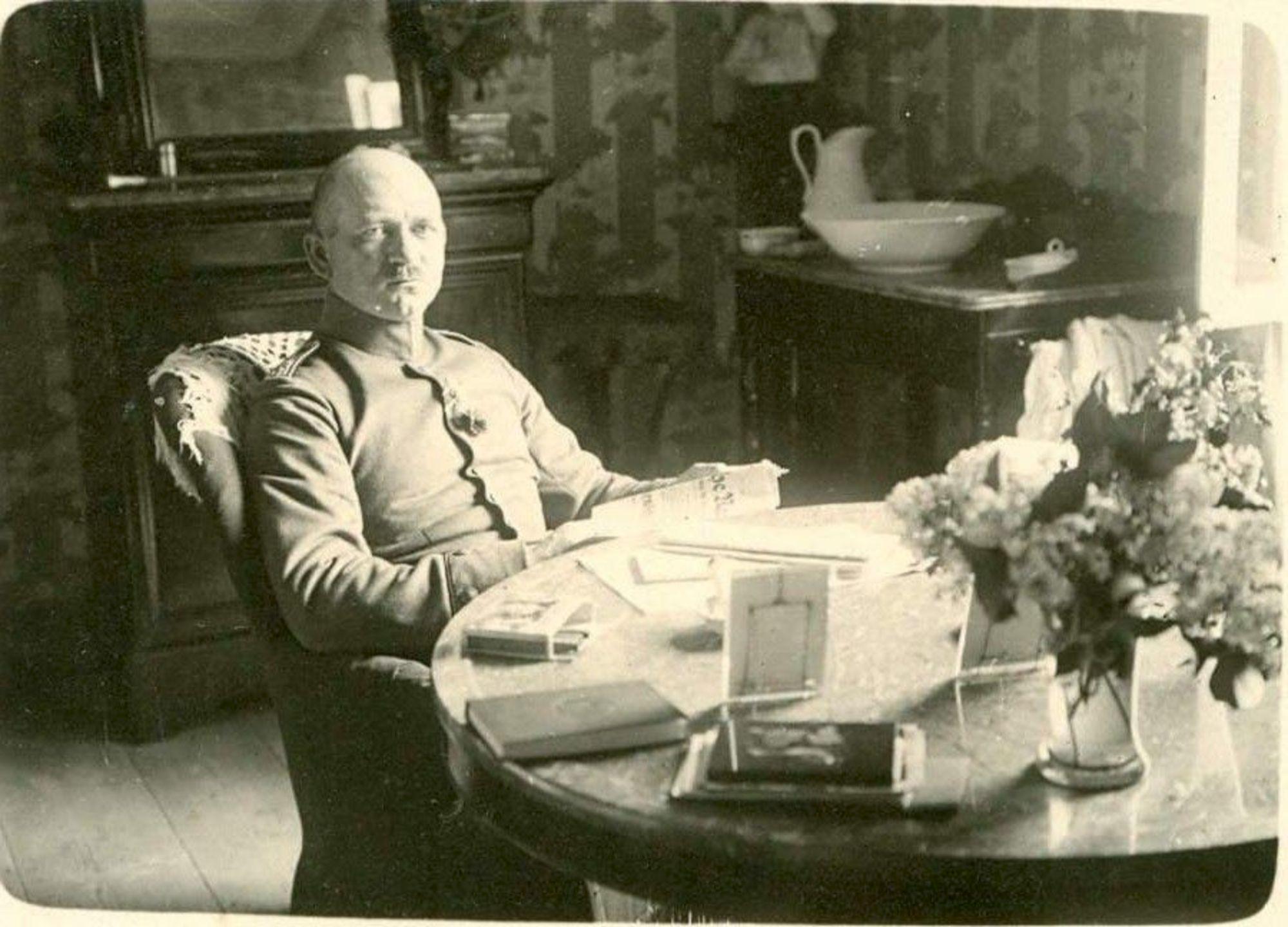 Kasteel van Marke tijdens Wereldoorlog I
