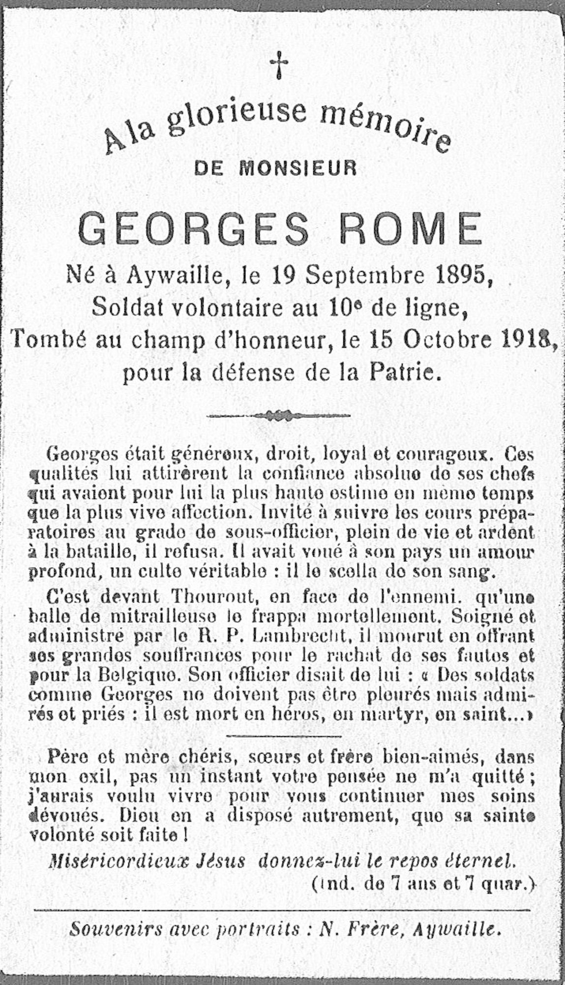 Rome Georges