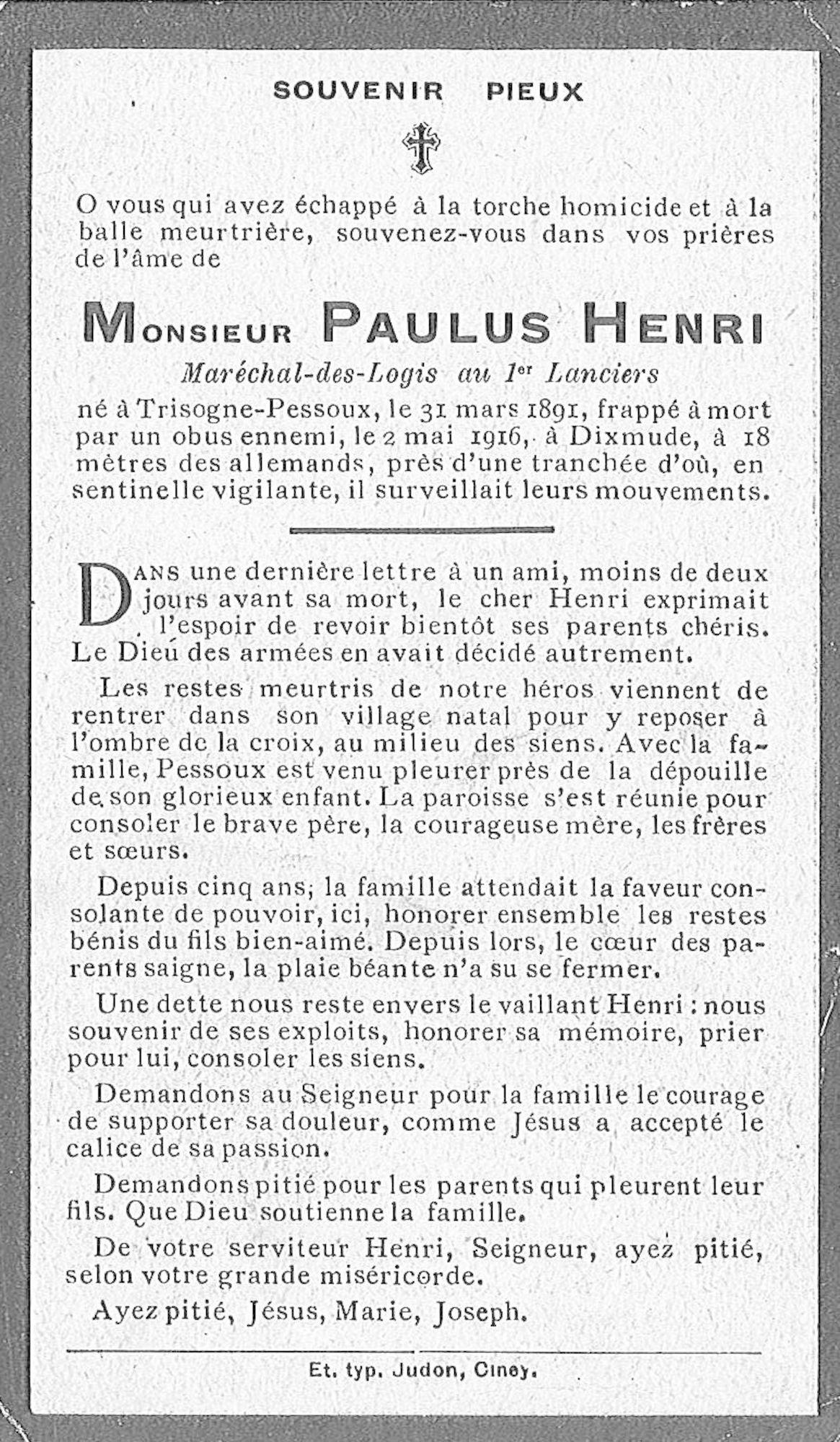 Paulus Henri