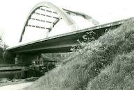 Brug over kanaal Bossuit-Kortrijk in Zwevegem-Knokke 1978