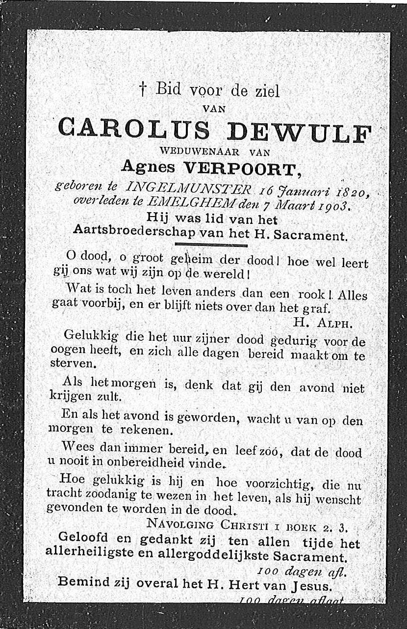 Carolus Dewulf