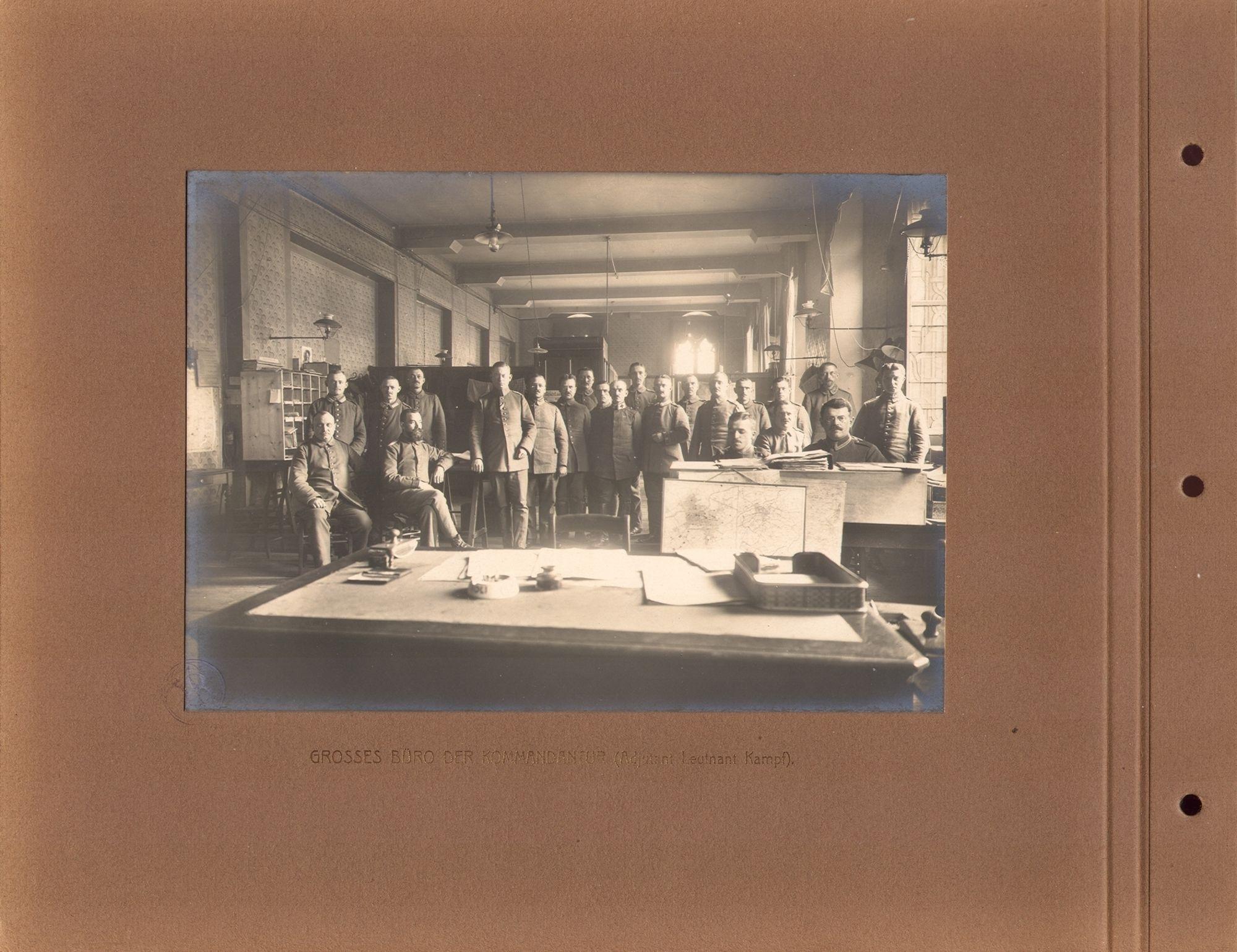 Kommandantur in 1916.