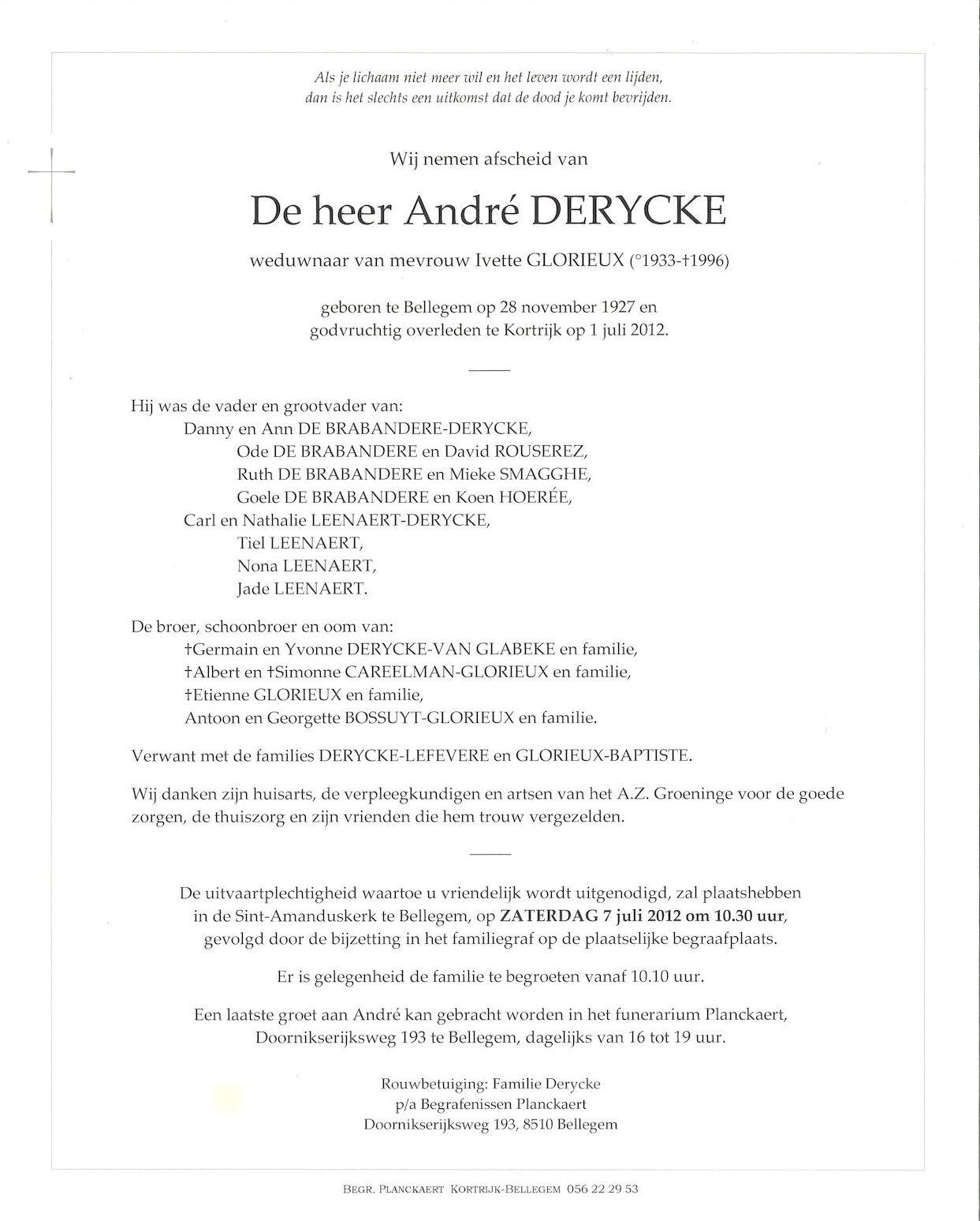 André Derycke