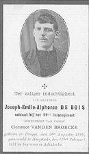 Joseph-Emile-Alphonse De Bois