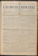 L'echo De Courtrai 1914-03-05