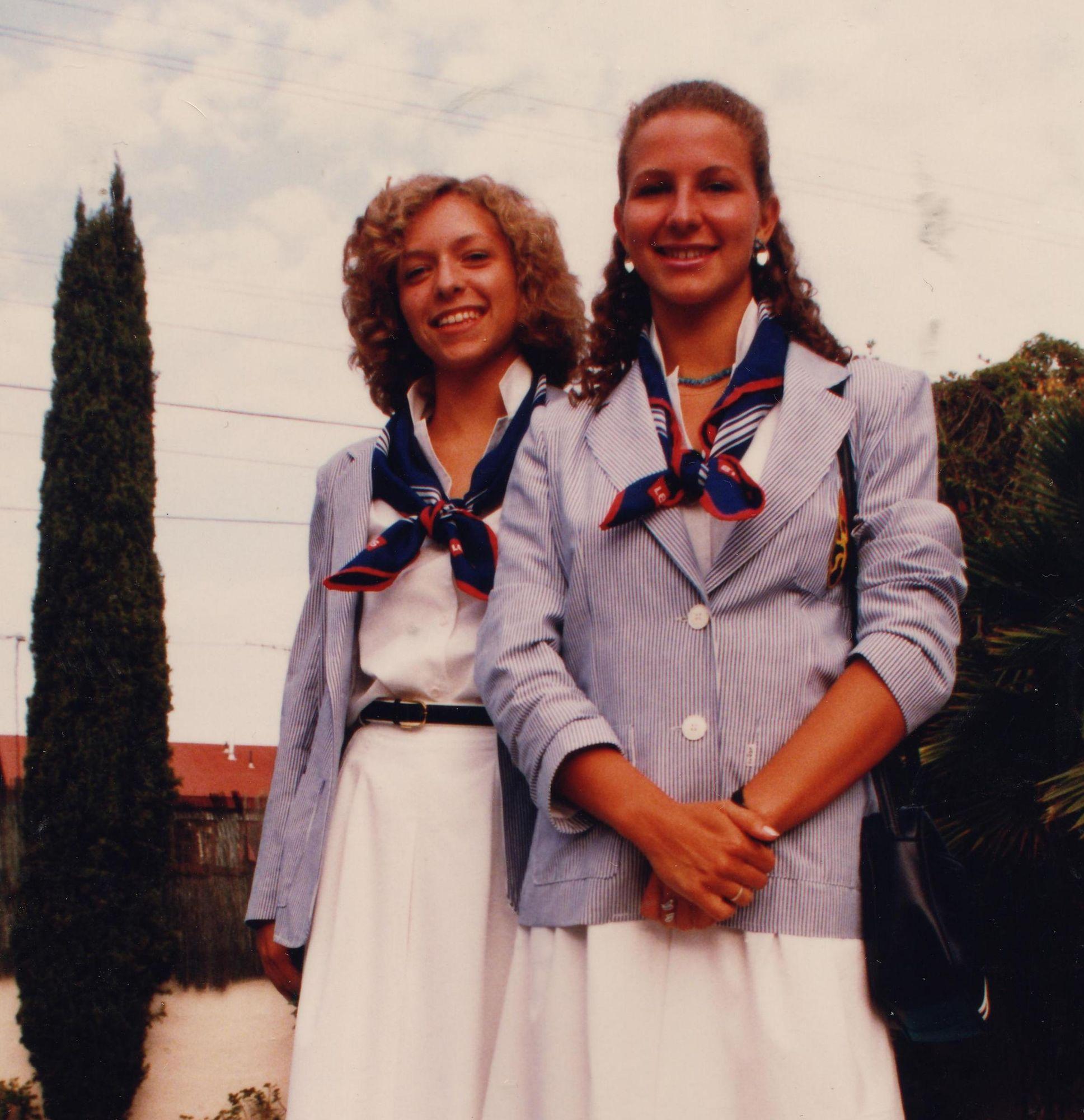 Katia Overfeldt en Patricia Serneels