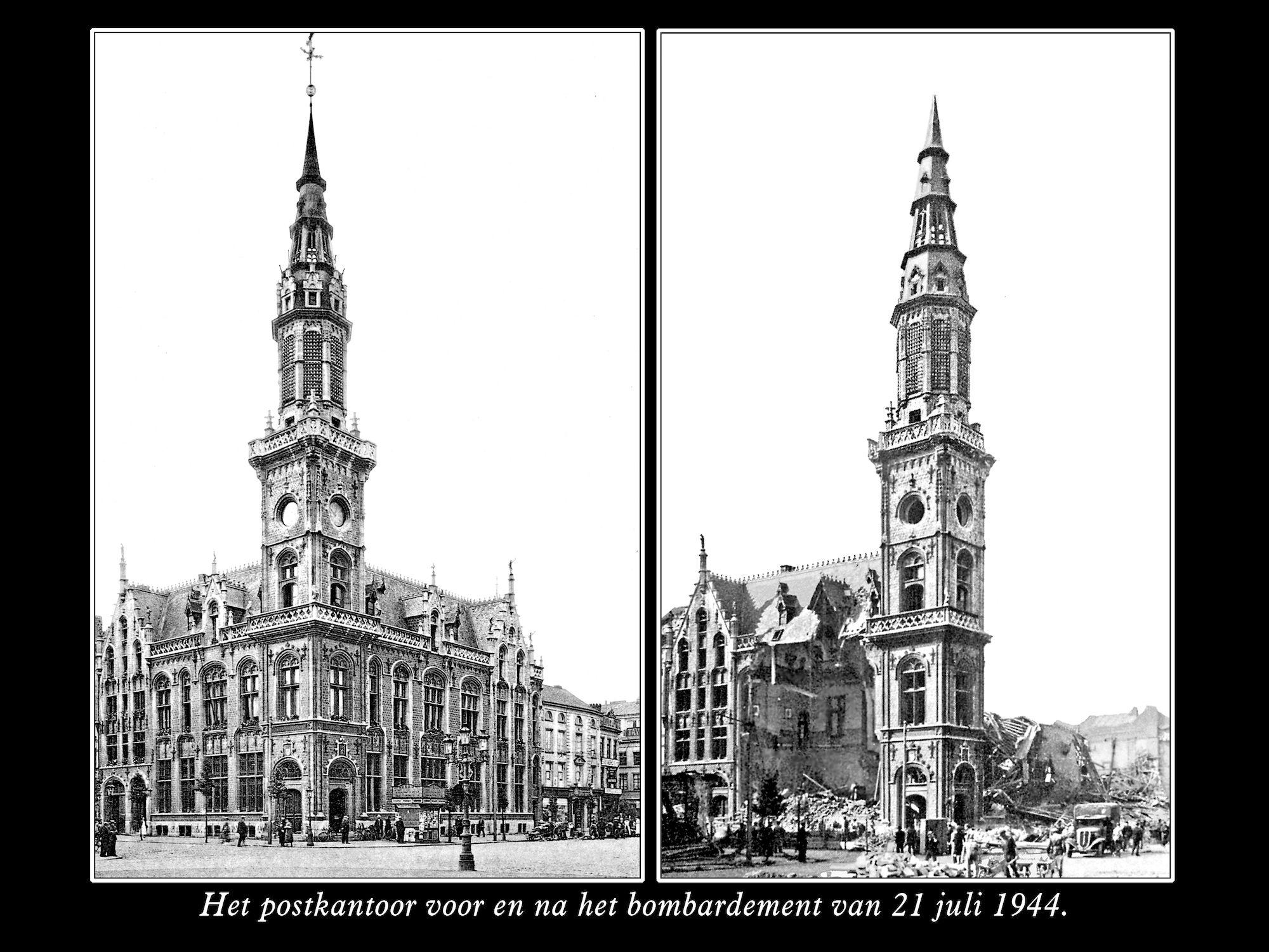 Postgebouw 1944
