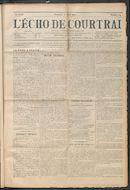 L'echo De Courtrai 1914-04-12