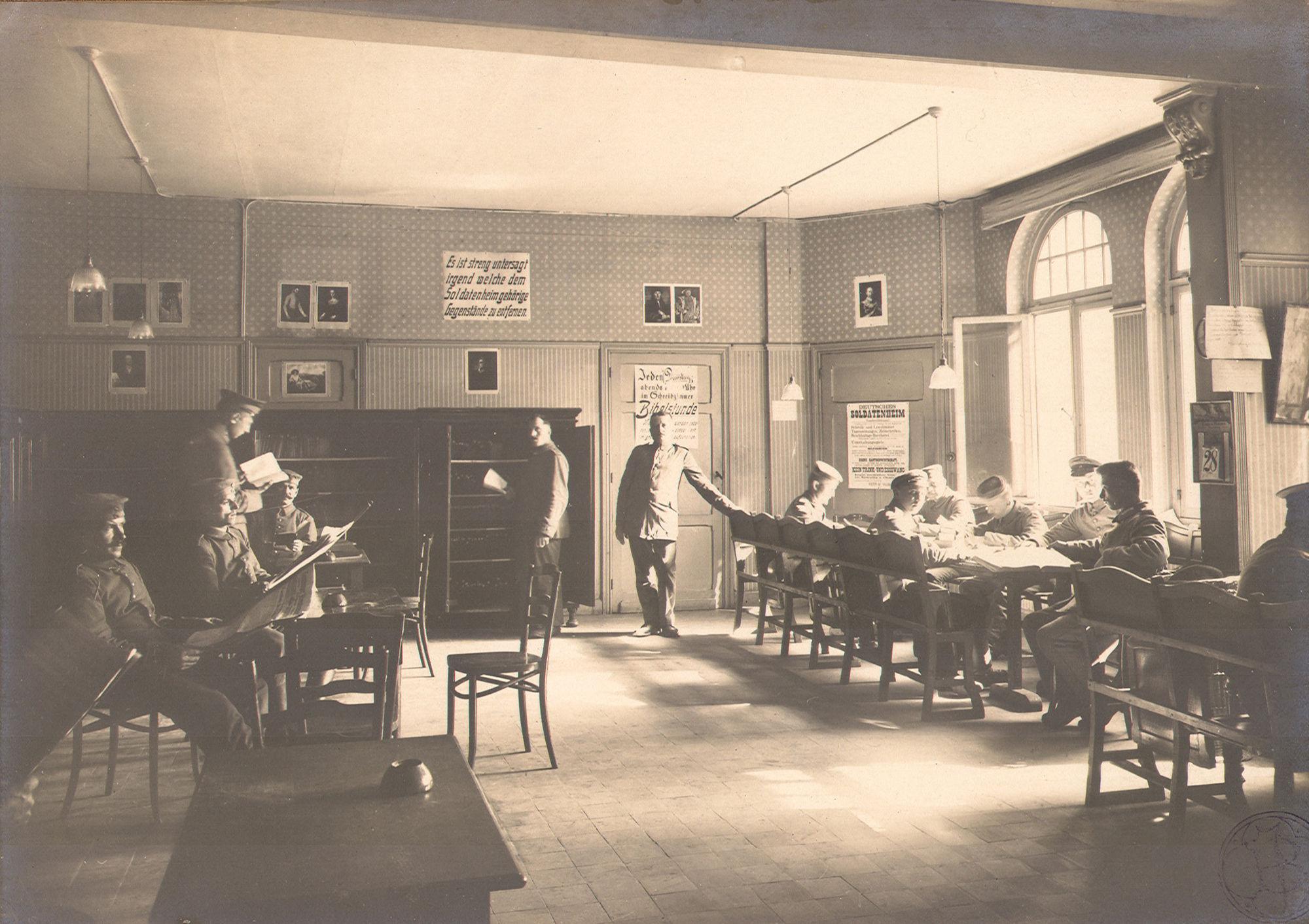 Soldatenheim I in 1916