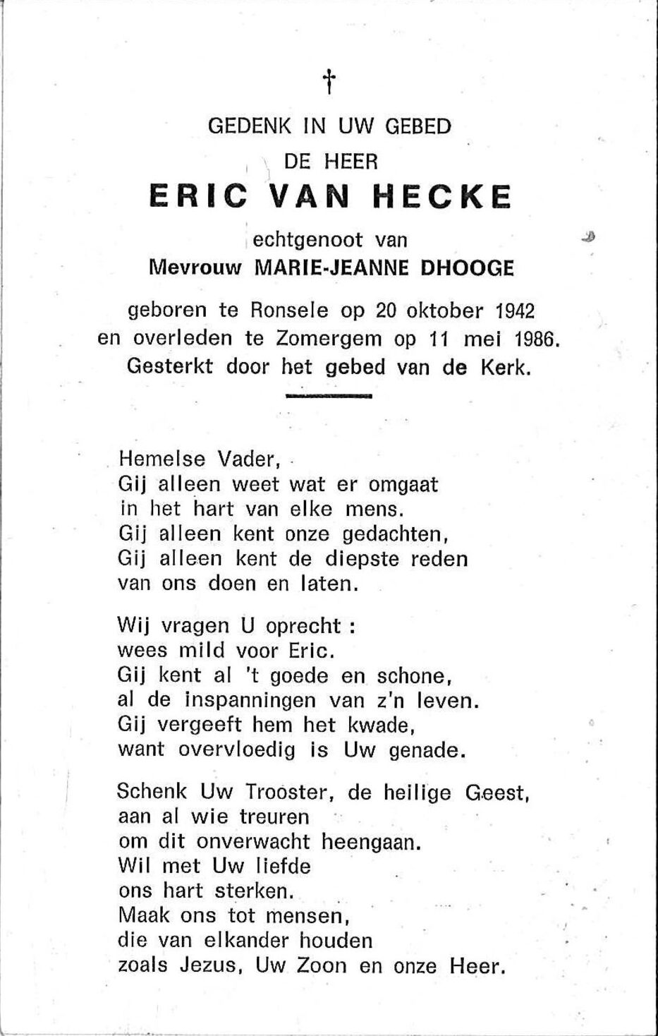 Eric van Hecke