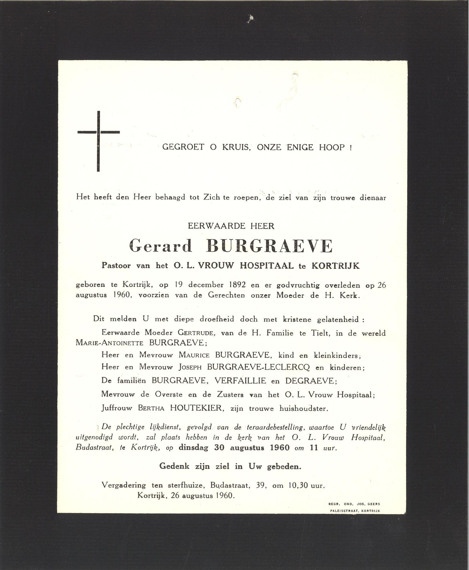 Gerard Burgraeve