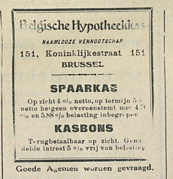 Belgische Hypotheekkas